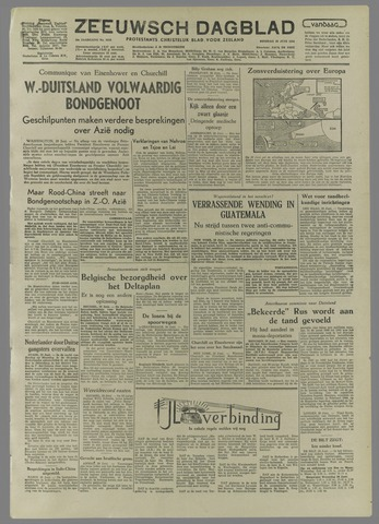 Zeeuwsch Dagblad 1954-06-29