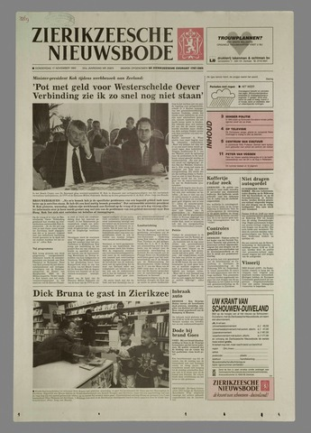 Zierikzeesche Nieuwsbode 1994-11-17