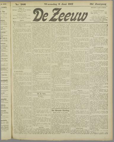 De Zeeuw. Christelijk-historisch nieuwsblad voor Zeeland 1917-06-06