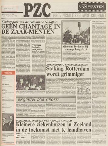 Provinciale Zeeuwse Courant 1979-09-14
