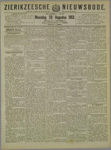 Zierikzeesche Nieuwsbode 1913-08-25