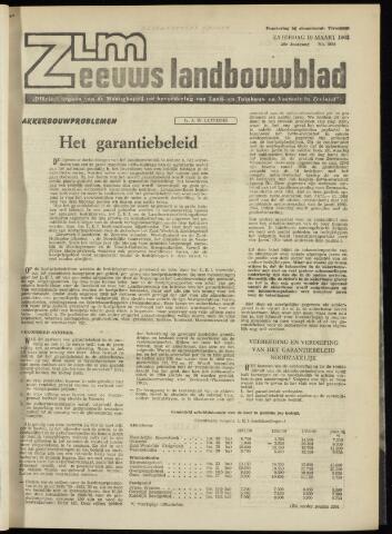 Zeeuwsch landbouwblad ... ZLM land- en tuinbouwblad 1962-03-09