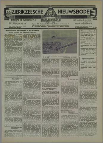 Zierikzeesche Nieuwsbode 1942-08-15