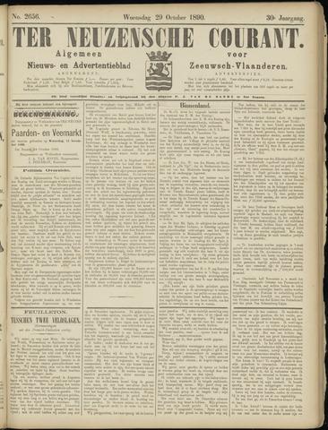 Ter Neuzensche Courant. Algemeen Nieuws- en Advertentieblad voor Zeeuwsch-Vlaanderen / Neuzensche Courant ... (idem) / (Algemeen) nieuws en advertentieblad voor Zeeuwsch-Vlaanderen 1890-10-29