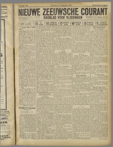Nieuwe Zeeuwsche Courant 1921-08-04