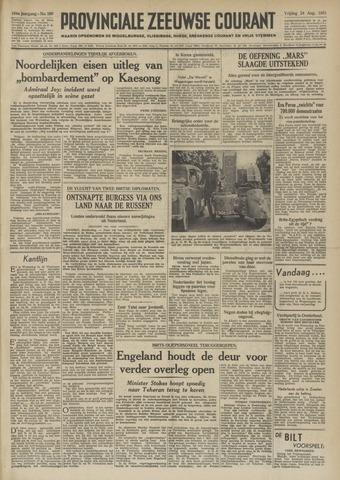 Provinciale Zeeuwse Courant 1951-08-24