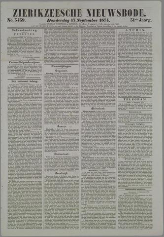 Zierikzeesche Nieuwsbode 1874-09-17