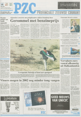 Provinciale Zeeuwse Courant 2001-12-19