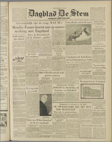 de Stem 1954-09-01