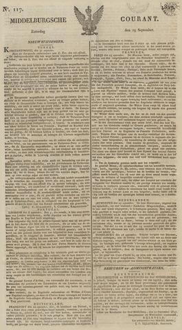 Middelburgsche Courant 1827-09-29