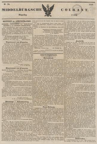 Middelburgsche Courant 1843-07-04