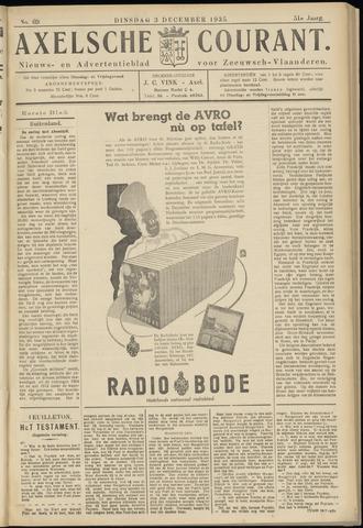 Axelsche Courant 1935-12-03