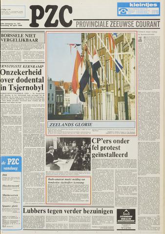 Provinciale Zeeuwse Courant 1986-04-30