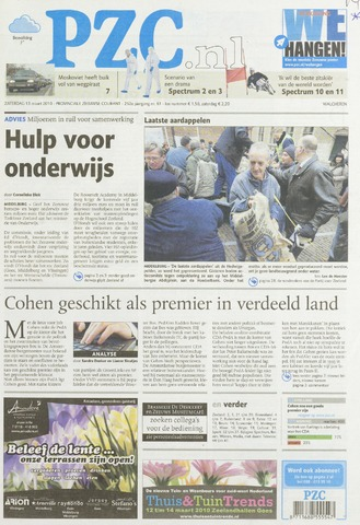 Provinciale Zeeuwse Courant 2010-03-13