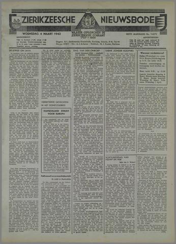 Zierikzeesche Nieuwsbode 1942-03-04