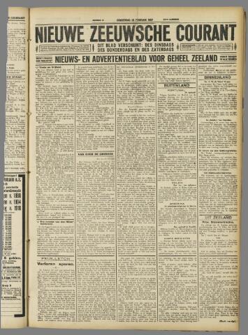 Nieuwe Zeeuwsche Courant 1927-02-10