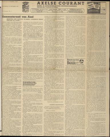 Axelsche Courant 1958-10-25