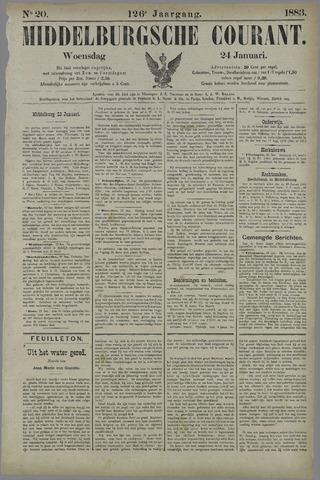 Middelburgsche Courant 1883-01-24