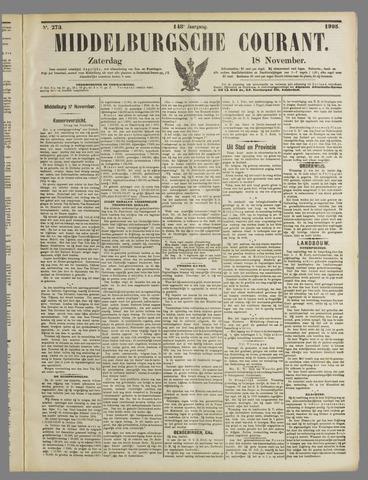 Middelburgsche Courant 1905-11-18