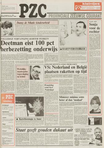 Provinciale Zeeuwse Courant 1984-11-30