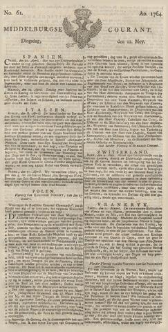 Middelburgsche Courant 1764-05-22
