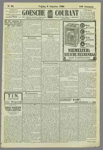 Goessche Courant 1929-08-09