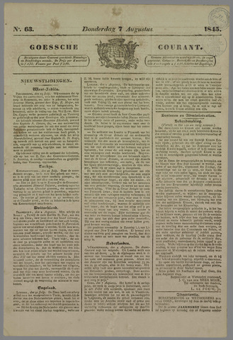 Goessche Courant 1845-08-07