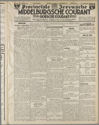 Middelburgsche Courant 1934-09-04