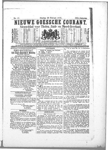 Nieuwe Goessche Courant 1876-02-29