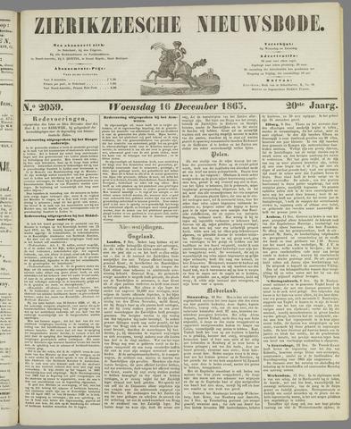 Zierikzeesche Nieuwsbode 1863-12-16