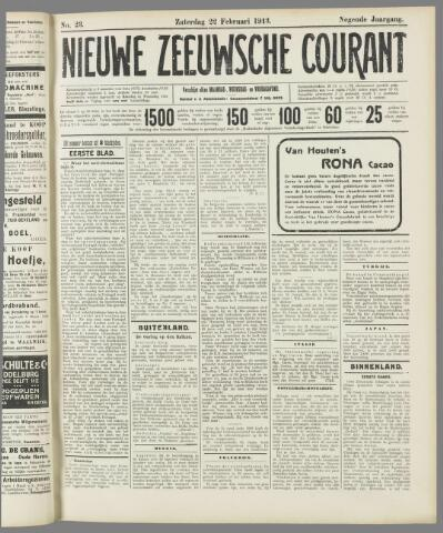Nieuwe Zeeuwsche Courant 1913-02-22