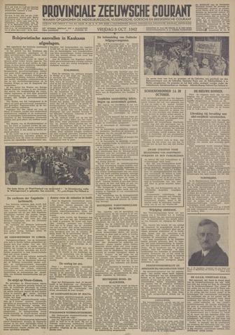 Provinciale Zeeuwse Courant 1942-10-09
