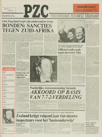Provinciale Zeeuwse Courant 1977-10-25