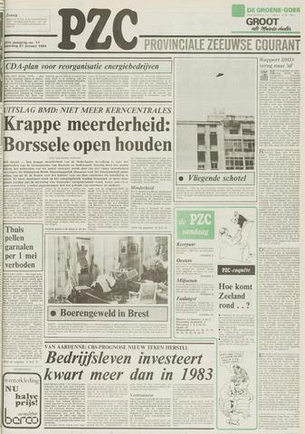 Provinciale Zeeuwse Courant 1984-01-21