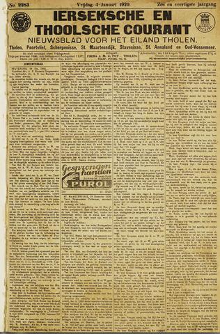 Ierseksche en Thoolsche Courant 1929