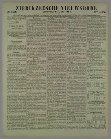 Zierikzeesche Nieuwsbode 1888-07-14
