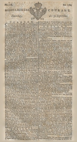 Middelburgsche Courant 1780-09-30