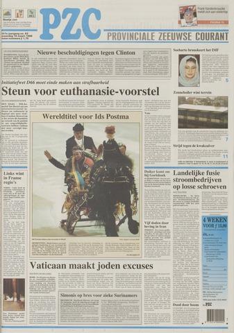 Provinciale Zeeuwse Courant 1998-03-16