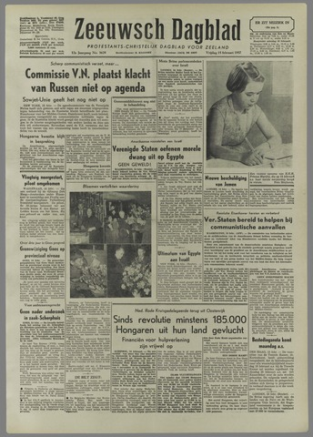 Zeeuwsch Dagblad 1957-02-15