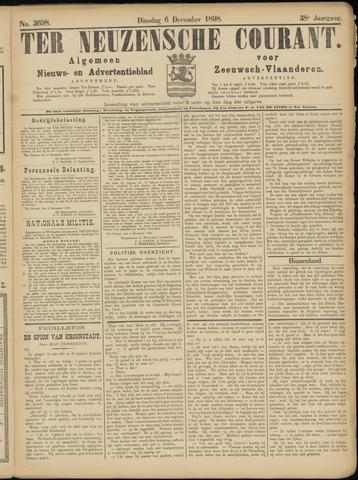 Ter Neuzensche Courant. Algemeen Nieuws- en Advertentieblad voor Zeeuwsch-Vlaanderen / Neuzensche Courant ... (idem) / (Algemeen) nieuws en advertentieblad voor Zeeuwsch-Vlaanderen 1898-12-06