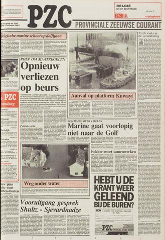 Provinciale Zeeuwse Courant 1987-10-23