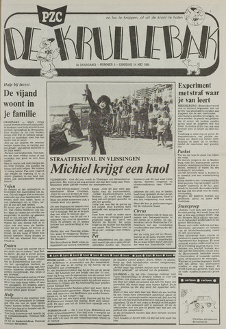 Provinciale Zeeuwse Courant katern Krullenbak (1981-1999) 1985-05-14