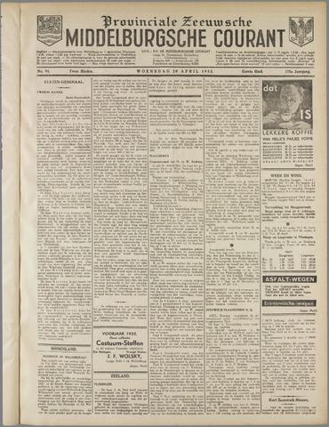 Middelburgsche Courant 1932-04-20