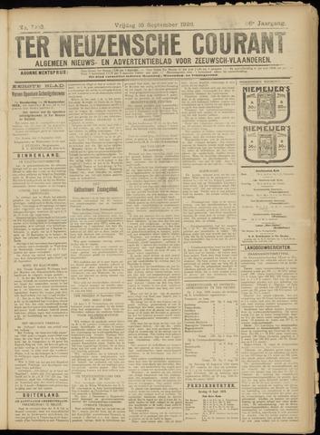 Ter Neuzensche Courant. Algemeen Nieuws- en Advertentieblad voor Zeeuwsch-Vlaanderen / Neuzensche Courant ... (idem) / (Algemeen) nieuws en advertentieblad voor Zeeuwsch-Vlaanderen 1926-09-10