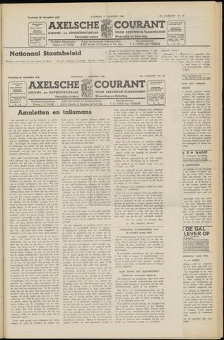 Axelsche Courant 1952-08-06