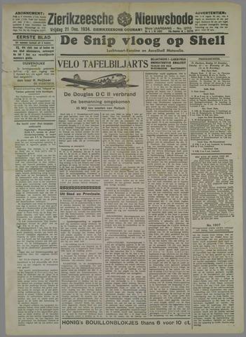 Zierikzeesche Nieuwsbode 1934-12-21