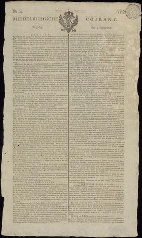 Middelburgsche Courant 1814-08-02