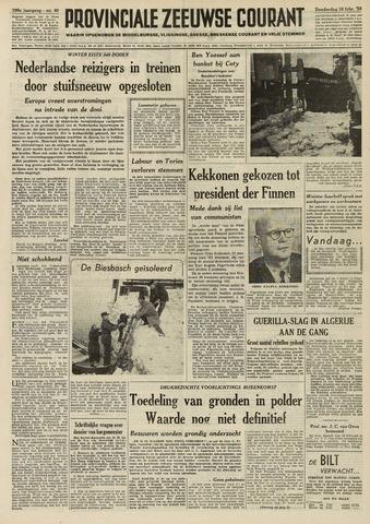 Provinciale Zeeuwse Courant 1956-02-16