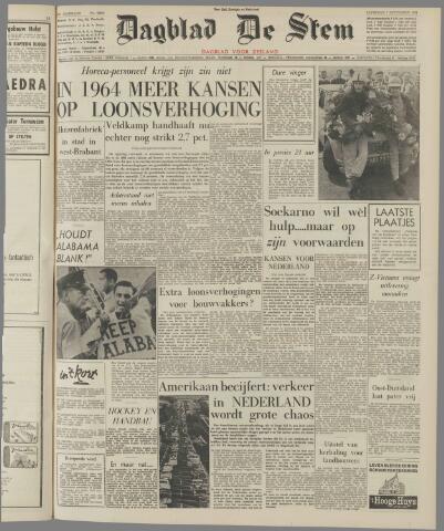 de Stem 1963-09-07
