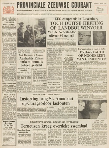 Provinciale Zeeuwse Courant 1969-10-07
